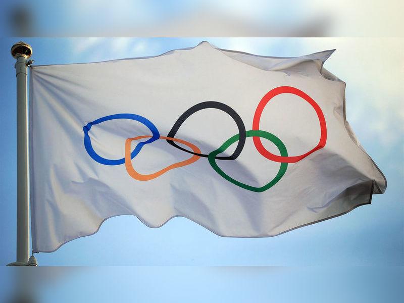 Highlight olympic flag