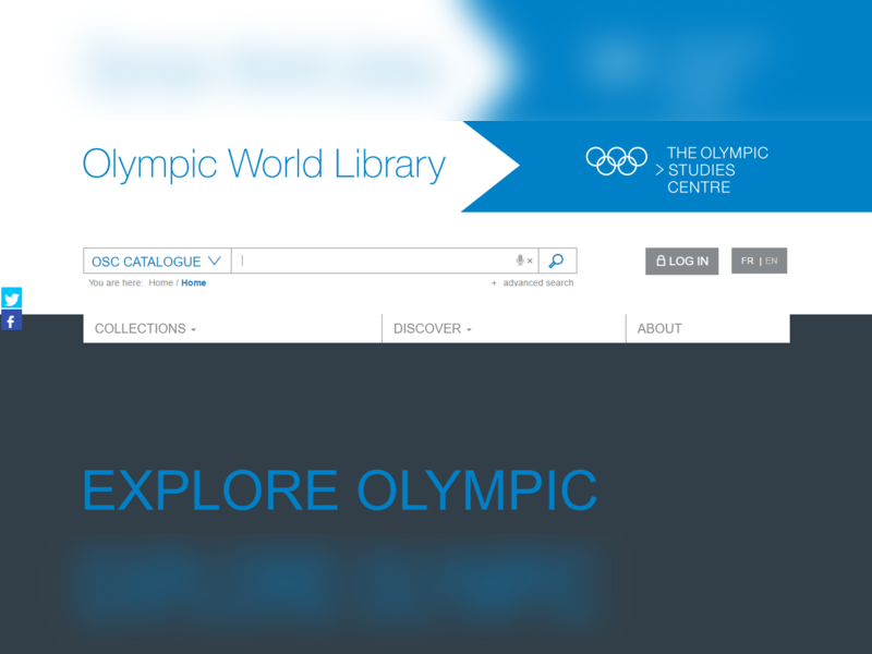 Highlight olympicworldlibrary